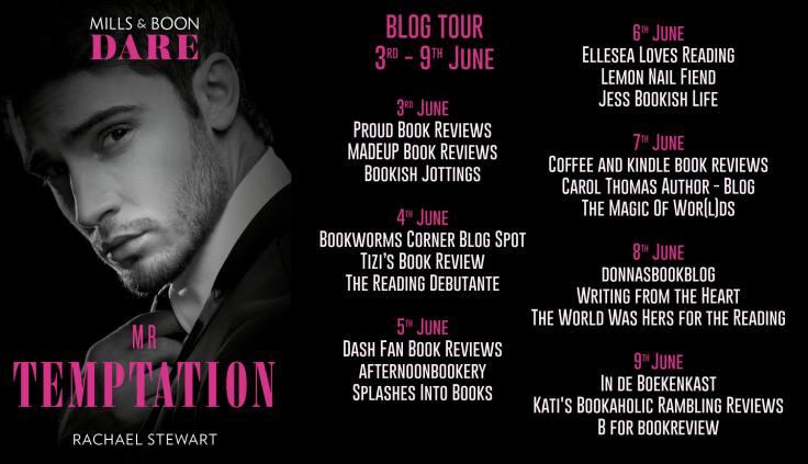 Mr Temptation Blog Tour Dates